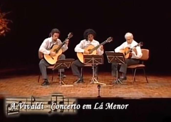 Capa do vídeo Música na Univap - Violão Câmara Trio