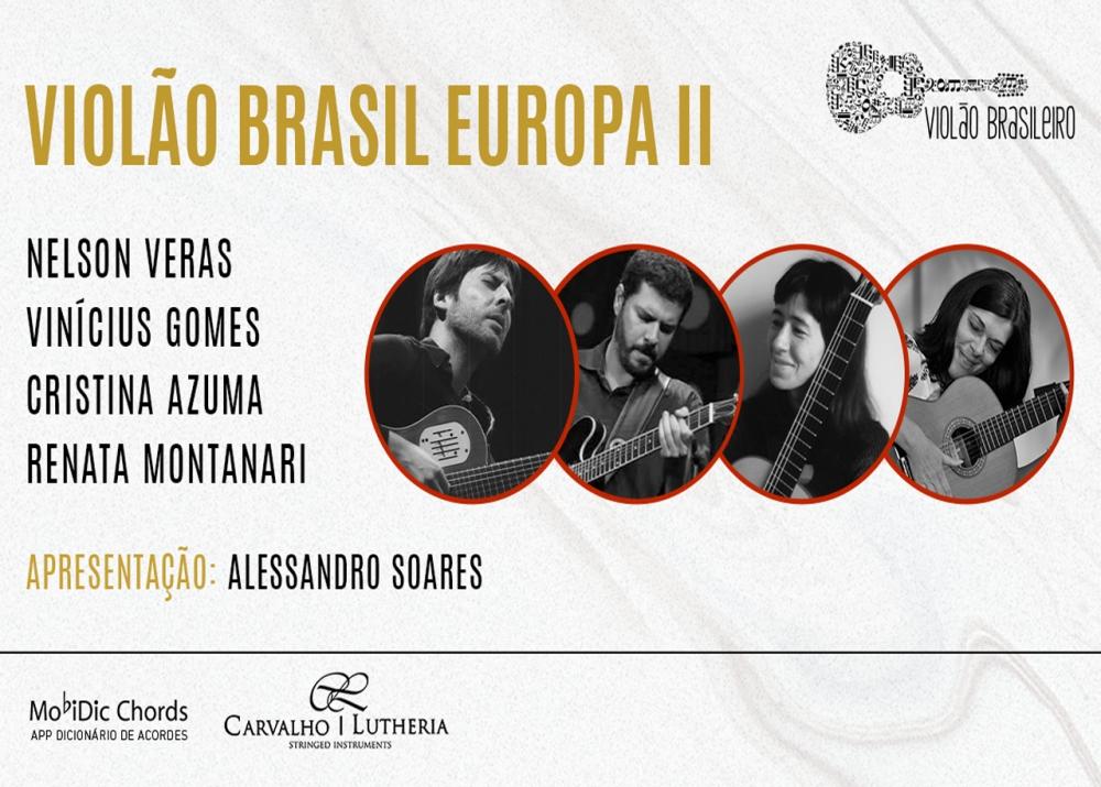 Capa do vídeo LIVE – Nelson Veras, Cristina Azuma, Rê Montanari e Vinícius Gomes