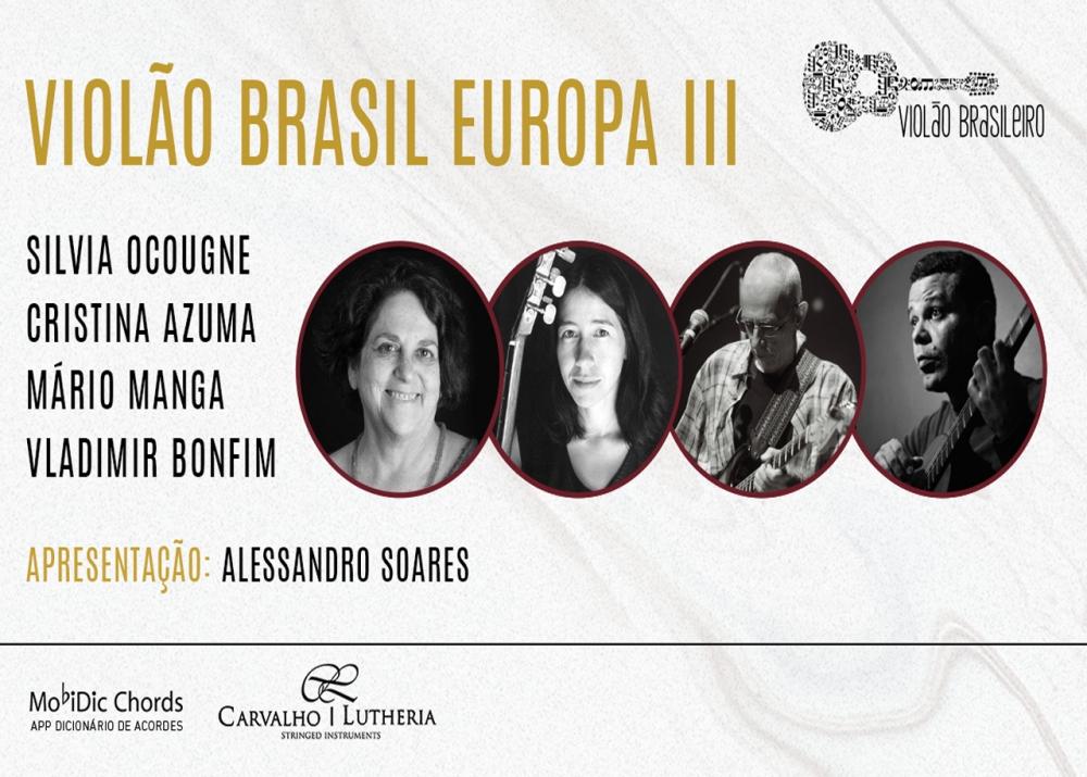 Capa do vídeo LIVE - Silvia Ocougne, Cristina Azuma, Mário Manga e Vladmir Bonfim