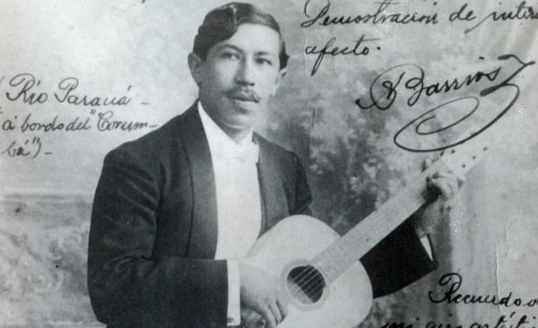 Julia Florida (Agustin Barrios) - partitura para quarteto de violões - arranjo Paulo Aragão (Maogani)