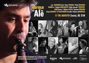 Amigos presenteiam Alexandre Ribeiro com show no Auditório Ibirapuera