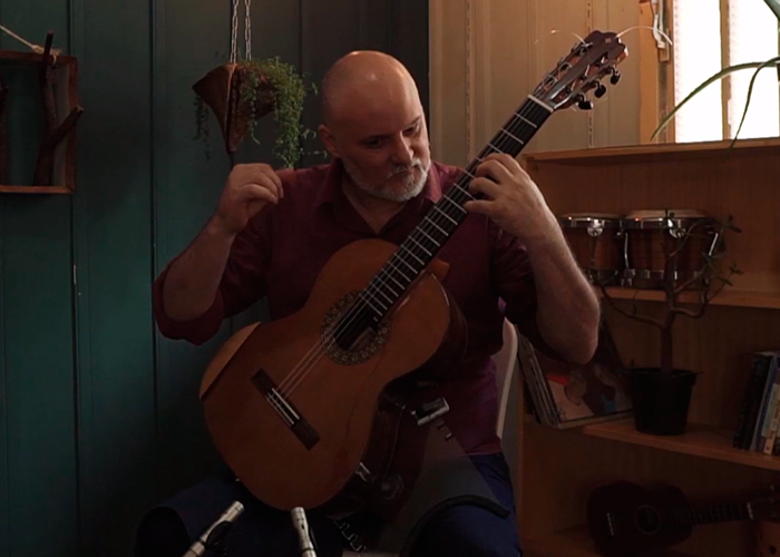 Capa do vídeo André Siqueira - Dança do Corrupião (Edu Lobo) - Violão Brasileiro