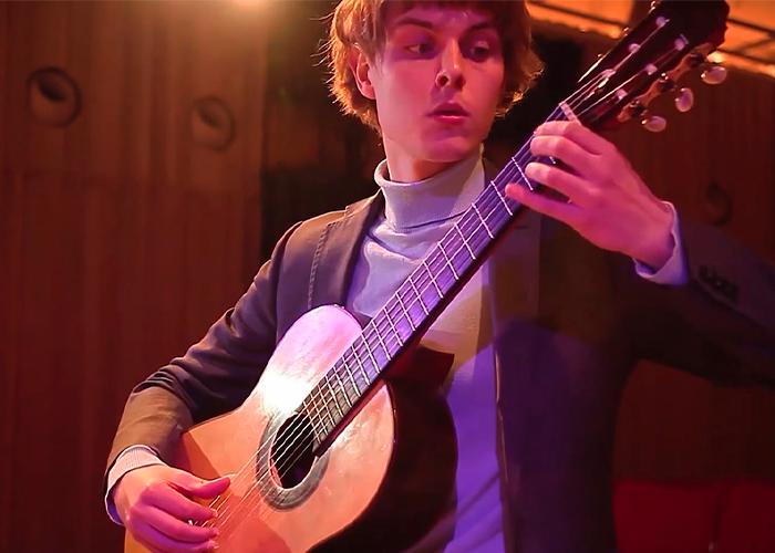Capa do vídeo Pièce de Concert - Marino Arcaro (violão Brad Johnson) - Violão Brasileiro