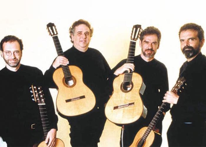 Revista Violão Intercâmbio Nº 43 Ano VII SET/OUT - 2000 - capa Quarteto Brasileiro