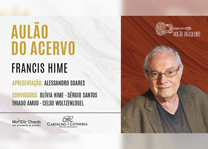 Capa do vídeo LIVE - AULÃO DO ACERVO COM FRANCIS HIME