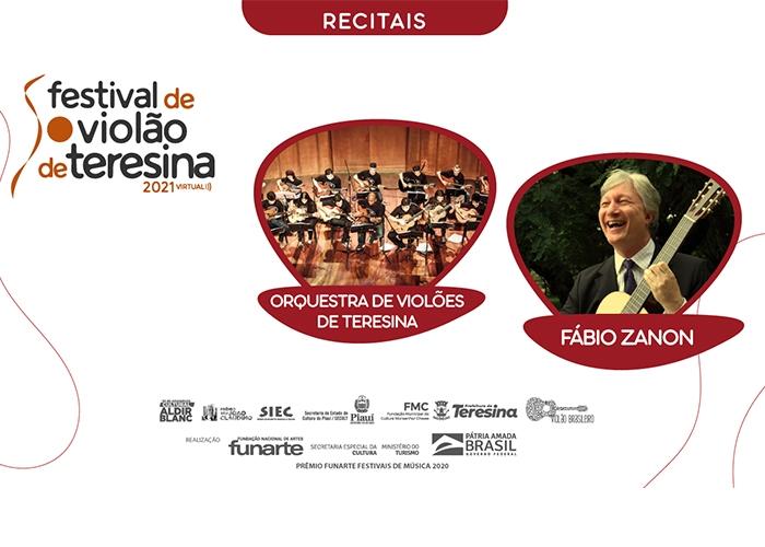 Capa do vídeo Fábio Zanon e Orquestra de Violões de Teresina - Recitais IV Festival de Violão de Teresina