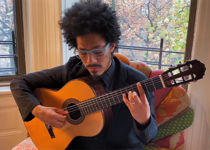 Capa do vídeo Stifled by Mariel Mayz: João Luiz, guitar