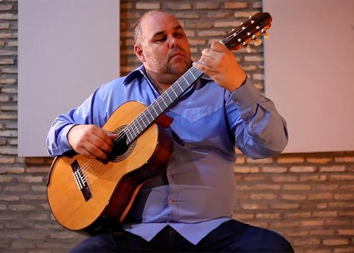 Capa do vídeo Alexandre Siqueira - Confidências (Amaro Siqueira) - Violão Brasileiro