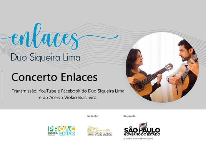 Capa do vídeo Duo Siqueira Lima - Concerto Enlaces