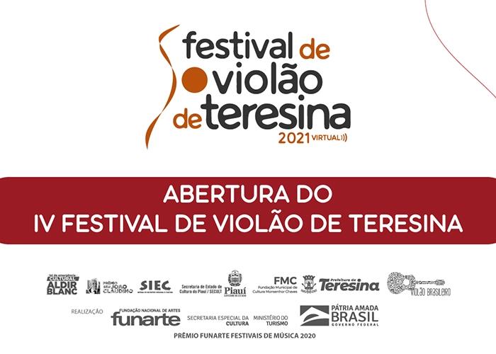 Capa do vídeo FESTIVAL DE VIOLÃO DE TERESINA - ABERTURA OFICIAL AO VIVO