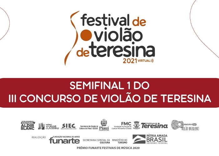 Capa do vídeo Semifinal do III Concurso de Violão de Teresina - Parte 1