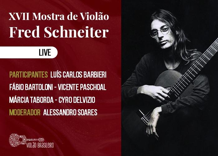 Capa do vídeo LIVE - XVII MOSTRA DE VIOLÃO FRED SCHNEITER
