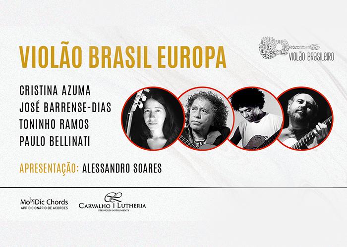 Capa do vídeo LIVE - Barrense-Dias, Cristina Azuma, Paulo Bellinati e Toninho Ramos