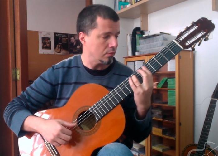Capa do vídeo Daniel Murray - Five Pop Tunes 1 (Marco Pereira) - Violão Brasileiro