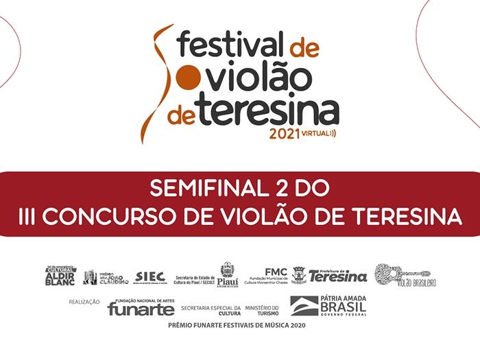 Capa do vídeo Semifinal do III Concurso de Violão de Teresina - Parte 2