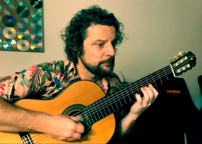 Capa do vídeo Um Amor de Valsa (Paulo Bellinati) - Douglas Lora