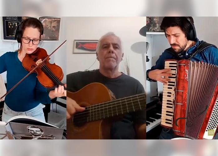 Capa do vídeo Henrique Gomide, Domingos Teixeira e Daphne Oltheten - Chora Fafá (Garoto) - Violão brasileiro