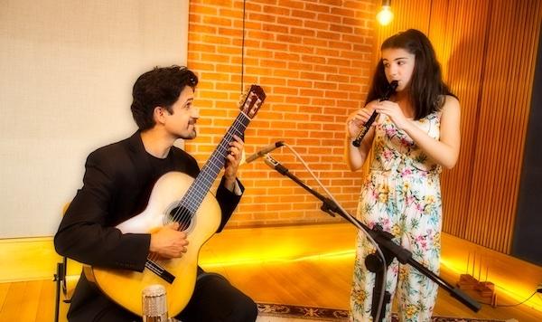 Duo Abdalla estreia a série Itinerários, com recitais online e masterclass de violão e flauta
