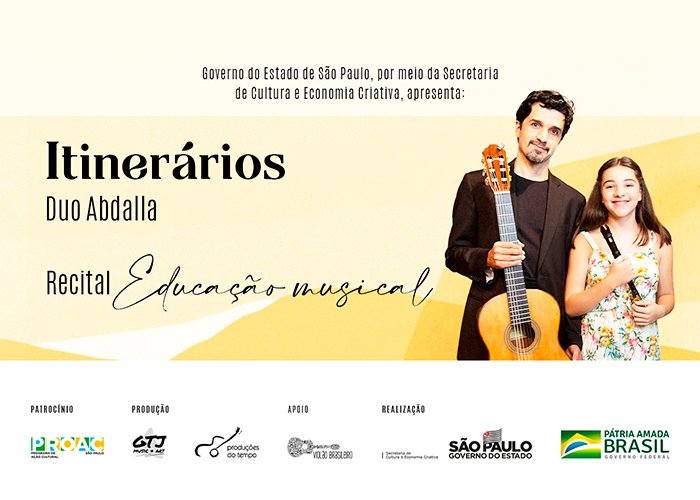Capa do vídeo LIVE - OFICINA DE EDUCAÇÃO MUSICAL COM DUO ABDALLA