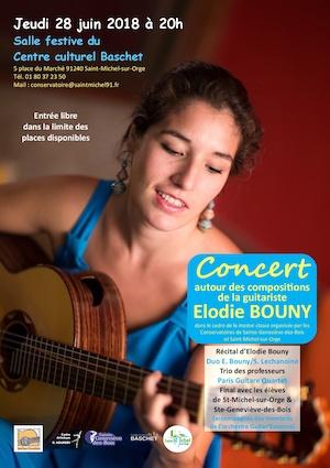 Elodie Bouny faz recital em Paris com repertório inteiramente autoral e estreia novas obras
