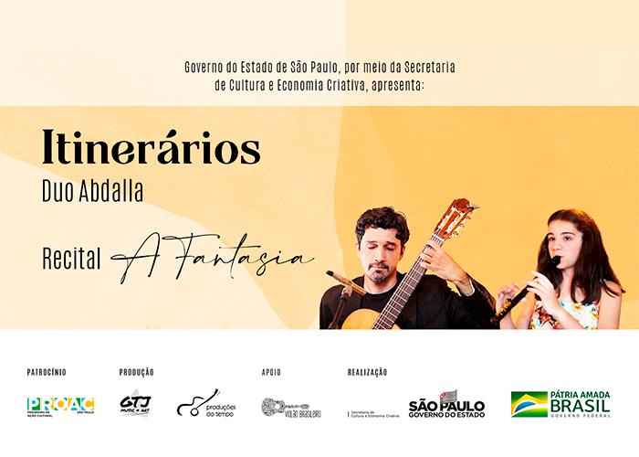 Capa do vídeo Duo Abdalla - Série Itinerários - Recital 3 - A Fantasia