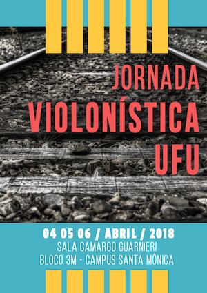 Jornada violonística em Uberlândia promove recitais e gravações abertas a alunos