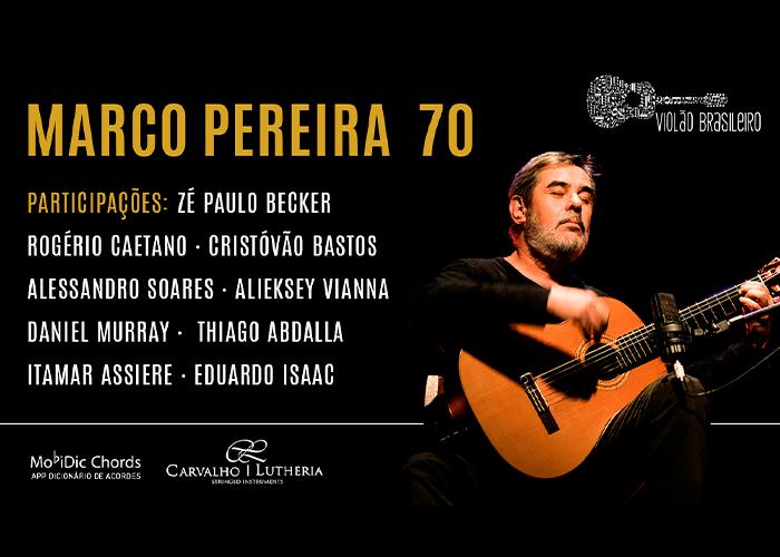 Capa do vídeo Live Marco Pereira 70