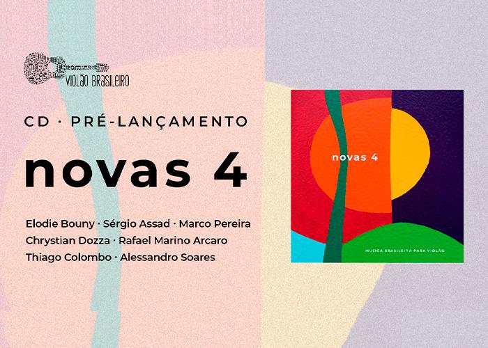 Capa do vídeo LIVE - PRÉ LANÇAMENTO CD NOVAS 4