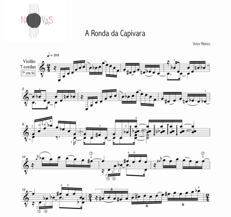 A Ronda da Capivara (Victor Ribeiro) - Violão Solo