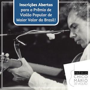 Prêmio Chico Mário anuncia vencedores em cerimônia na quarta-feira (22/08) em Belo Horizonte