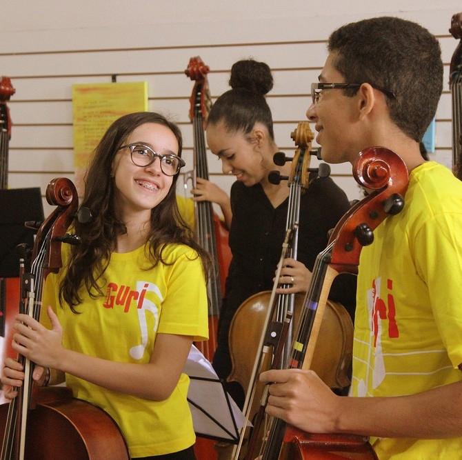 Projeto Guri é modelo no uso da música como meio de inclusão social