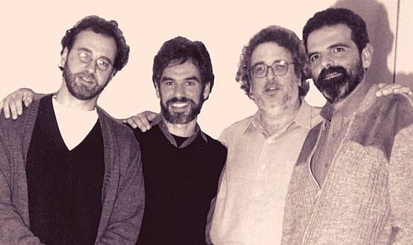 Revista Violão Intercâmbio Nº 43 Ano VII SET/OUT - 2000 - capa Quarteto Brasileiro de Violões