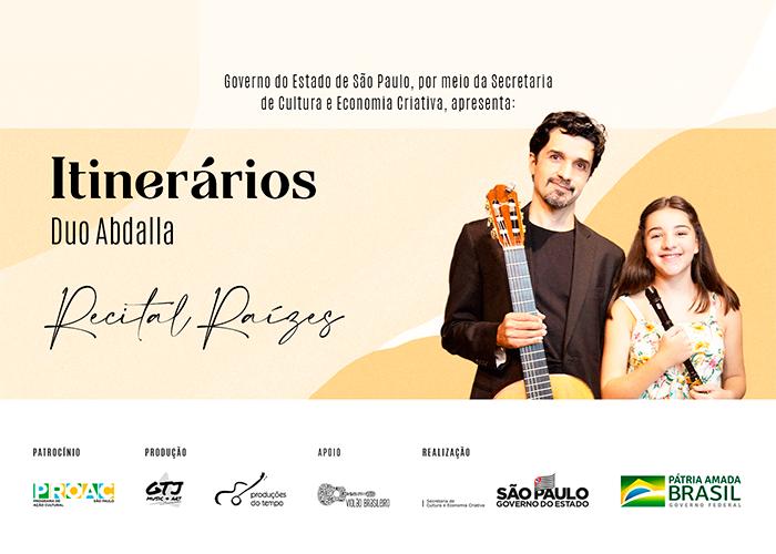 Capa do vídeo Duo Abdalla - Série Itinerários - Recital 1 – Raízes