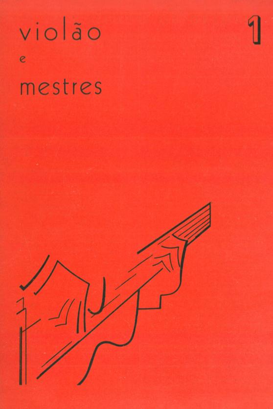 Revista Violão e Mestres - número 1 - Março 1964