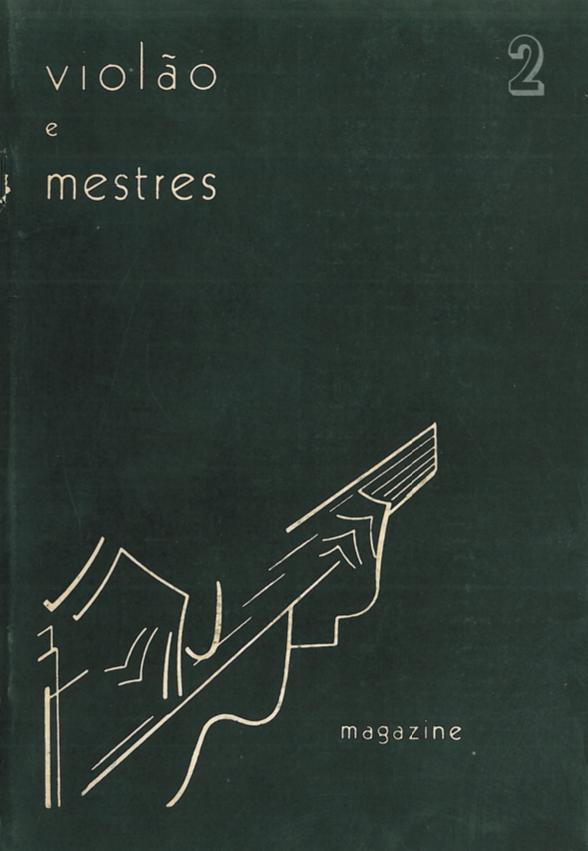 Revista Violão e Mestres - número 2 - Agosto 1964