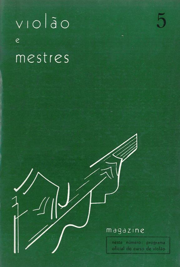 Revista Violão e Mestres - número 5 - junho 1966