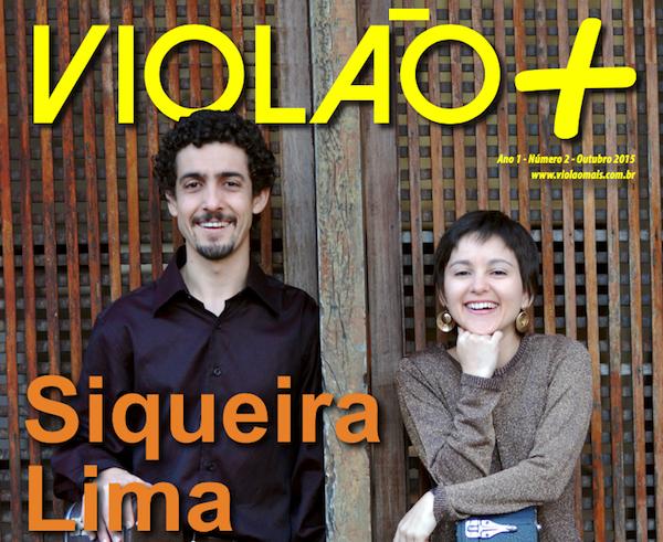 Revista Violão + Duo Siqueira Lima - Edição 02 - Outubro 2015