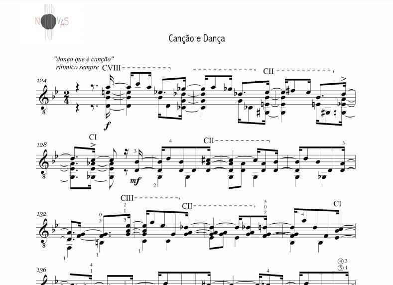 Canção e Dança (Daniel Murray) - violão solo