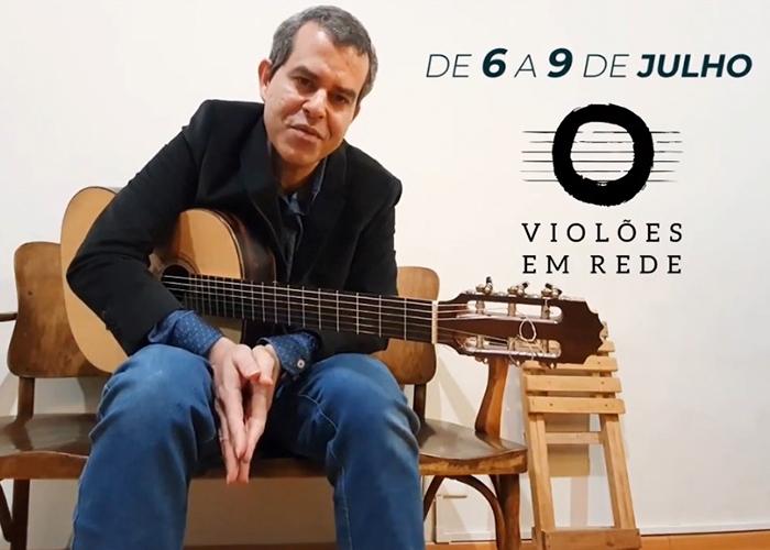 Capa do vídeo Festival Violões em Rede - convite Carlos Walter