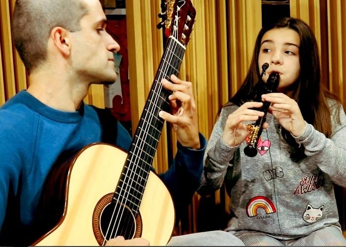 Capa do vídeo Duo Abdalla - Gabriel's Oboe (Ennio Morricone)