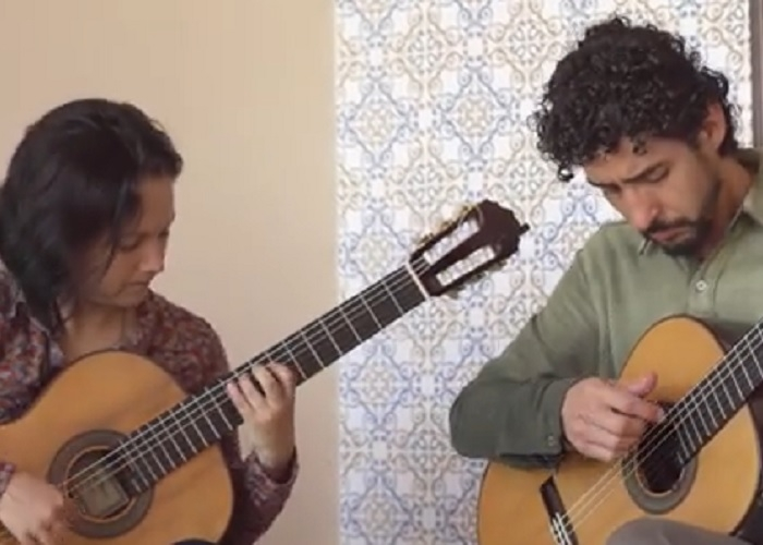 Capa do vídeo Duo Siqueira Lima - Coral Bachiana Brasileira n. 4 (Villa-Lobos)