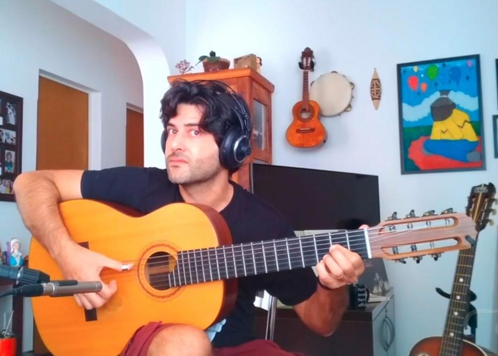 Capa do vídeo Guilherme Lamas e Carlos Chaves - Pé-de-boi na Lama (Carlos Chaves) - Violão Brasileiro