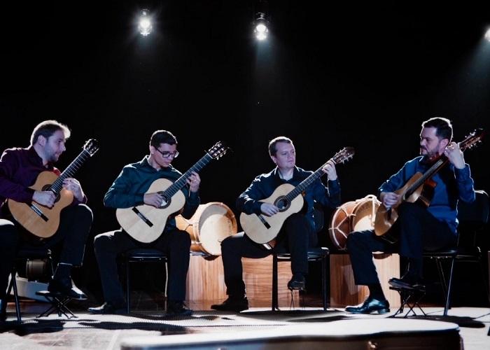 Capa do vídeo Quarteto Toccata - Coroado (Marco Pereira)