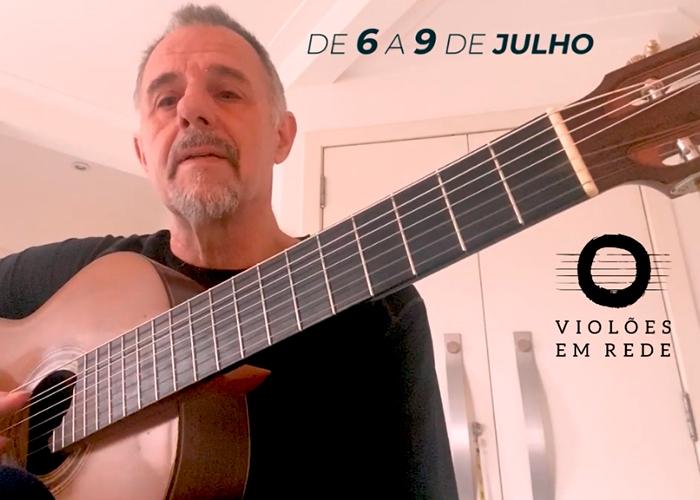 Capa do vídeo Recado de Swami Jr sobre o Festival Violões em Rede (06 a 09 de julho)