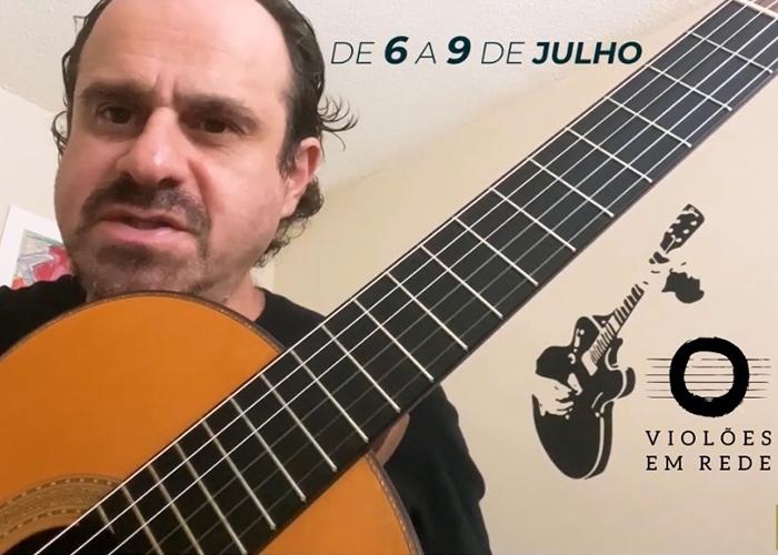Capa do vídeo TABAJARA BELO CONVIDA PARA O FESTIVAL VIOLÕES EM REDE - 6 A 9 DE JULHO