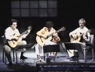 Capa do vídeo Violão Câmara Trio - Introdução e Fandango (Boccherini)