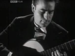 Capa do vídeo Julian Bream - Prelúdios 3 (trecho) e 4 de Heitor Villa-Lobos
