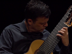 Capa do vídeo Paulo Martelli - Suite BWV 1008 Gigue (J. S. Bach)