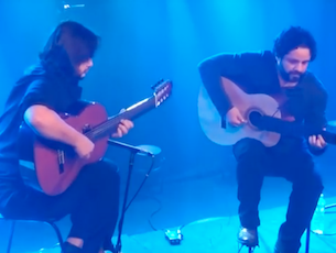 Capa do vídeo Rogério Caetano e Yamandu Costa - Choro Bagual (Rogério Caetano)