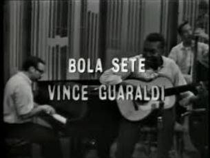 Capa do vídeo Bola Sete and The Vince Guaraldi Trio - programa Jazz Casual